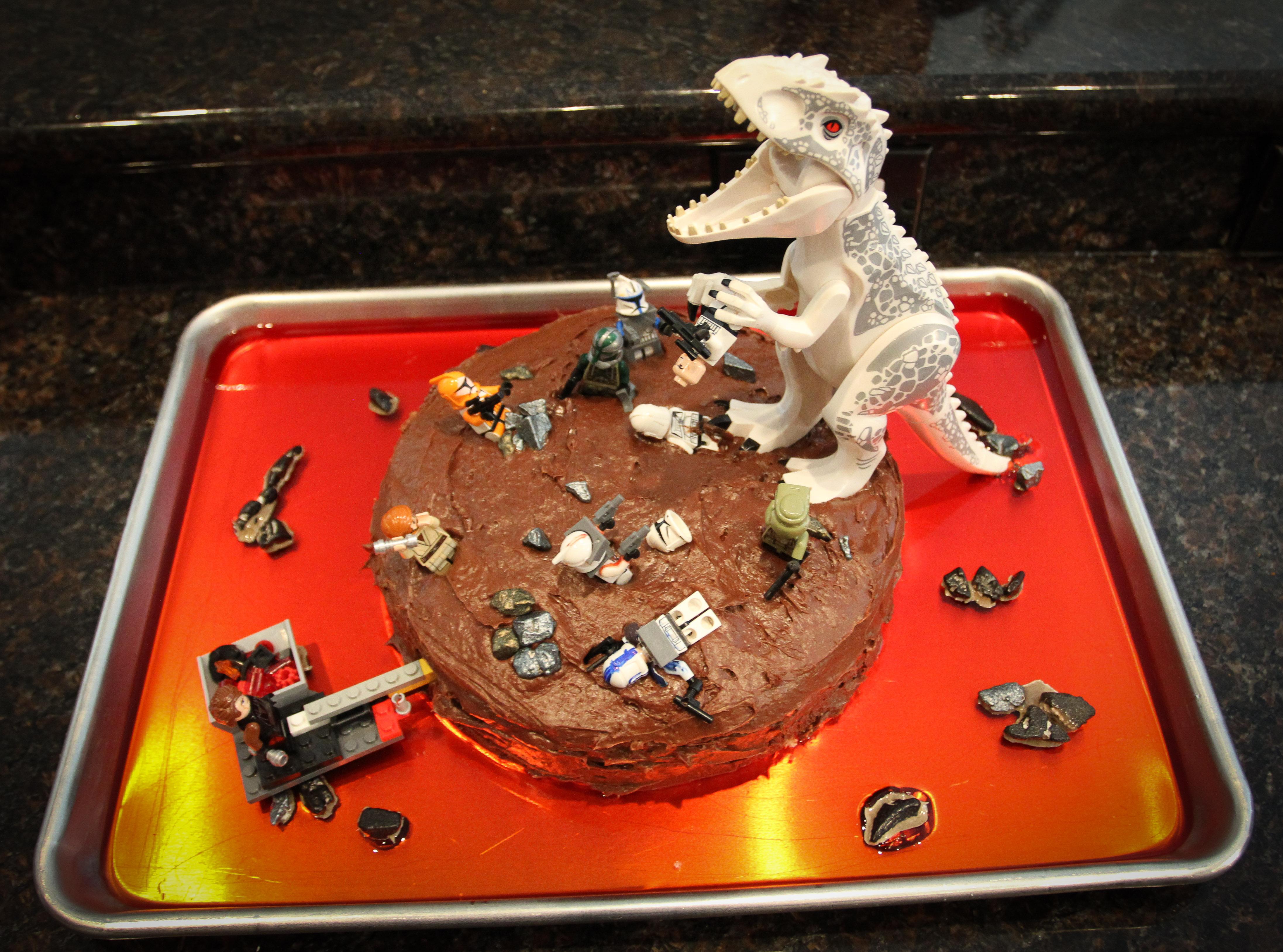 Star Wars Plus A Little Jurassic World Sweetly Nestled